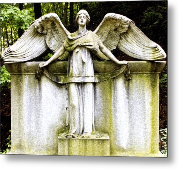 At Heavens Gate Metal Print