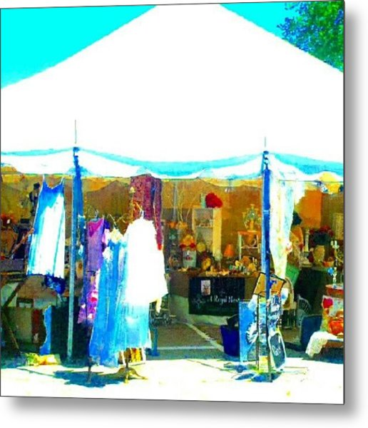 At The Antique Show #abstract #android Metal Print