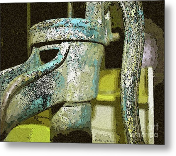 At The Well Metal Print