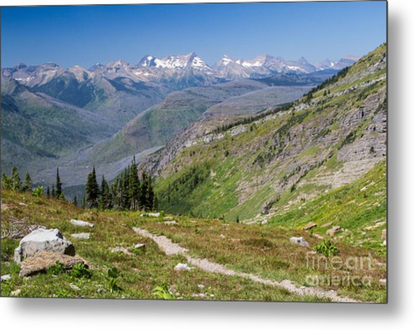Metal Print featuring the photograph Atop Haystack Butte by Katie LaSalle-Lowery