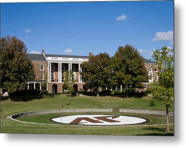 Metal Print featuring the photograph Austin Peay State University by Ed Gleichman
