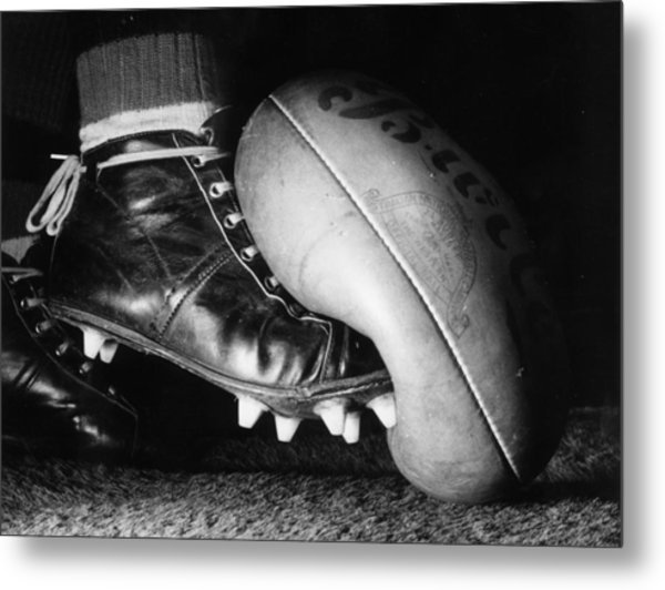 Australian Rules Metal Print by Central Press