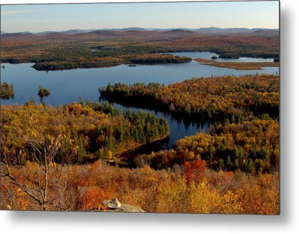 Autumn At Low's Lake Metal Print