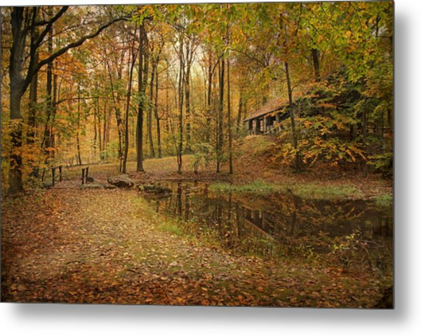 Autumn At Voorhees Metal Print