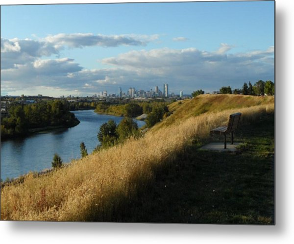 Autumn Calgary Metal Print