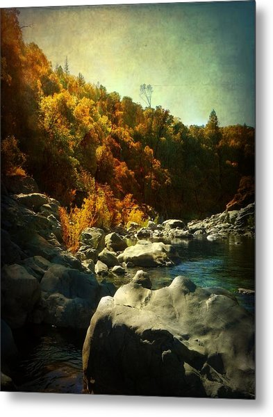 Autumn Lights Metal Print