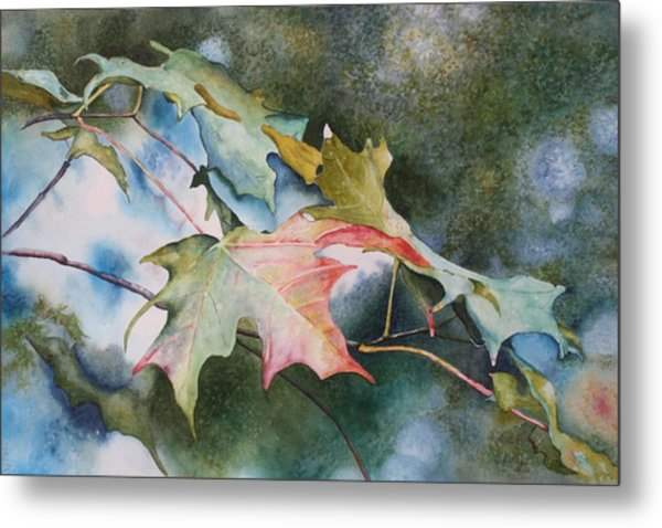 Autumn Sparkle Metal Print