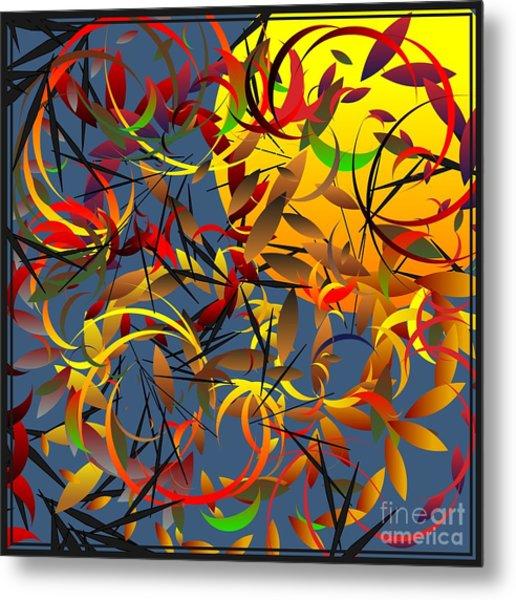 Autumn Wind 2012 Metal Print