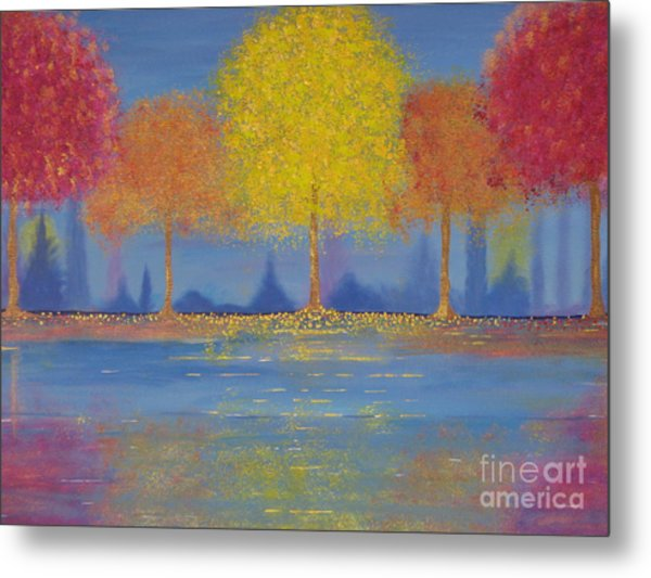 Autumn's Bliss Metal Print