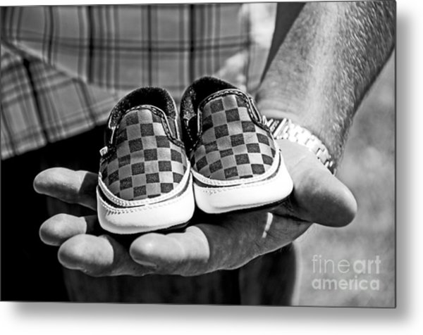 Baby Shoes Metal Print by Baywest Imaging