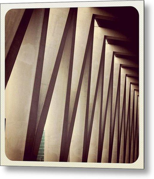 Back Entrance. #minthotel #oosterdok Metal Print