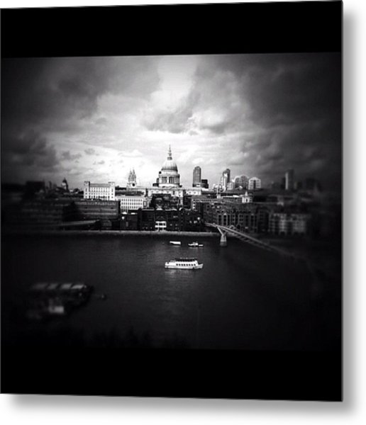 Back In London Metal Print