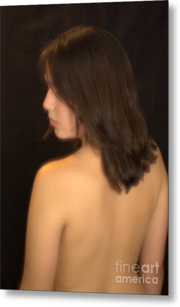 Back Profile Metal Print