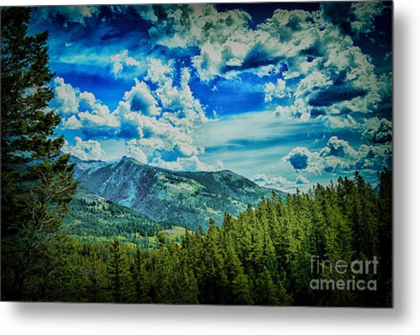 Bad Mountain Metal Print by Rick Bragan