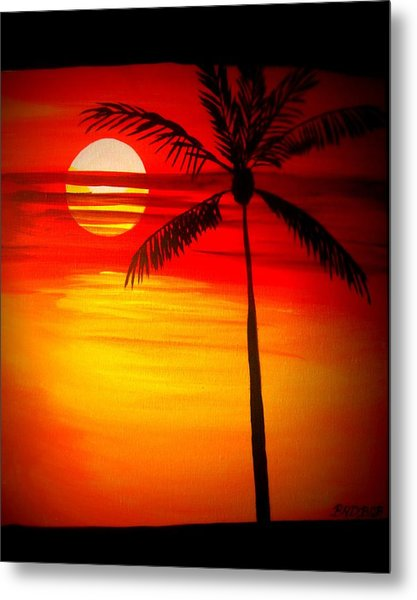 Bad Sunrise Metal Print