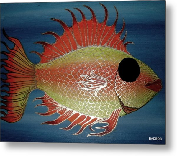 Badfish Metal Print
