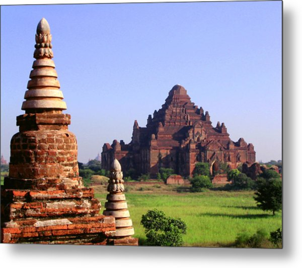 Bagan Temple Metal Print