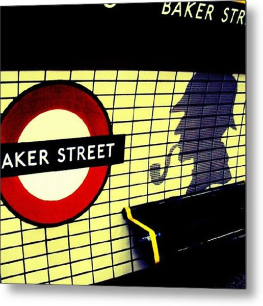 Baker Street Station, May 2012 | Metal Print