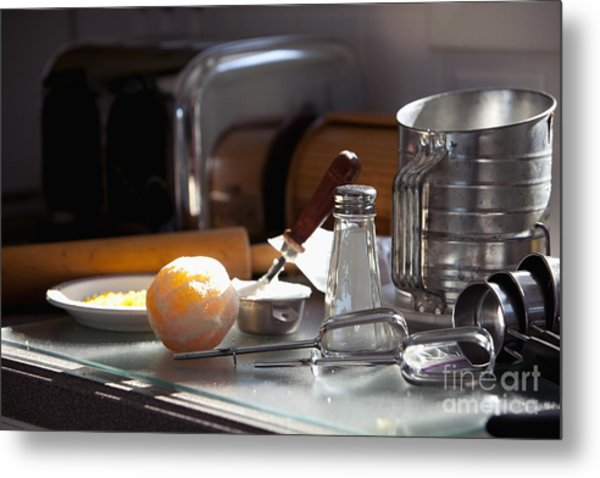 Baking Still Life Metal Print