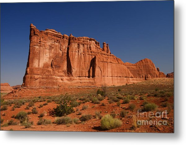 Balanced Rock Arches Np Metal Print by ELITE IMAGE photography By Chad McDermott