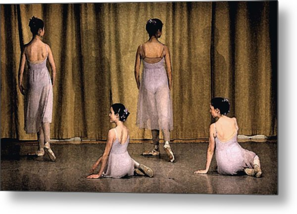 Ballerinas Metal Print by Ercole Gaudioso