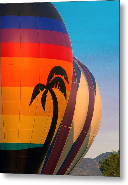 Balloon Launch Metal Print by Carol Norman