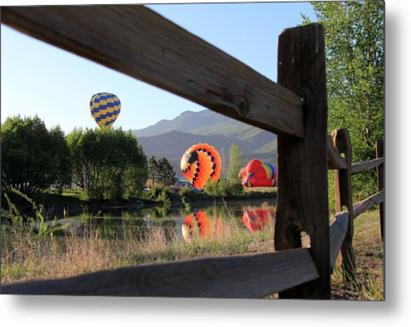 Balloon Launch-ridgway 2012 Metal Print