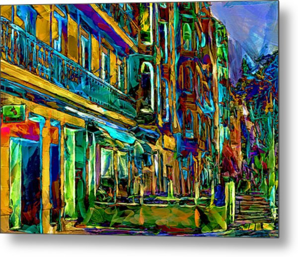 Barcelona Streets Two Metal Print by Yury Malkov