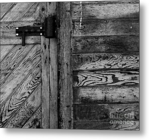 Barn Door Metal Print