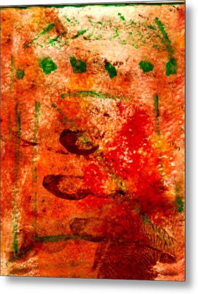 Bathed In Clay Garden  Metal Print by Kimanthi Toure