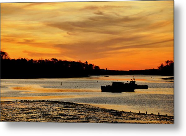 Bay Beauty Metal Print