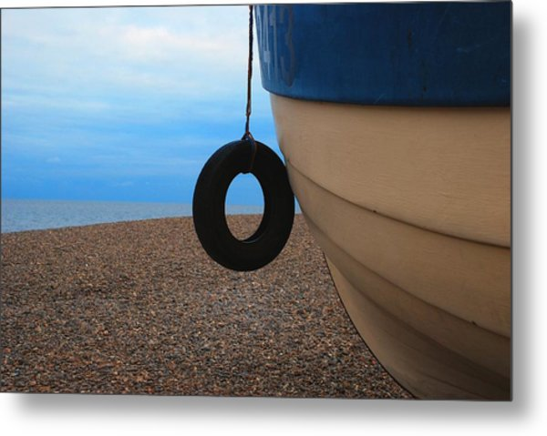 Beach Boat Metal Print by Duncan Nelson