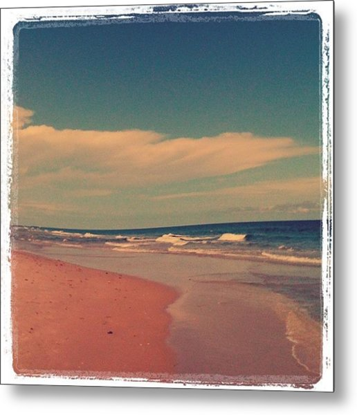 Beach Days. :) #beach #day #love #sky Metal Print
