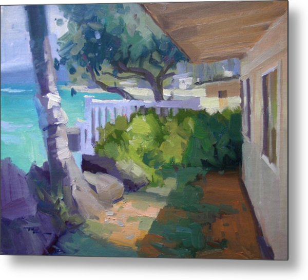 Beach House Metal Print by Richard Robinson