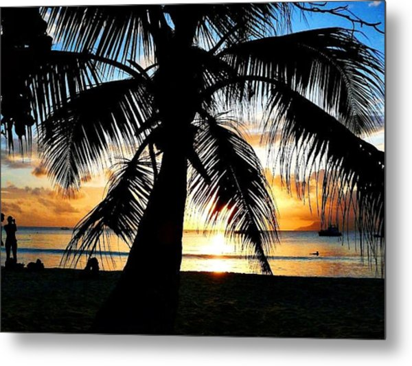 Beach Metal Print by Jenny Senra Pampin