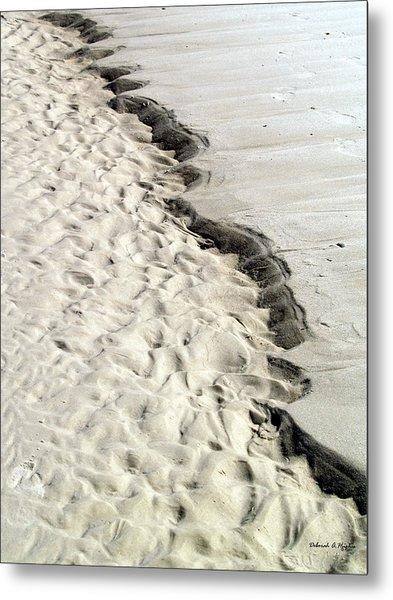 Beach Sand Metal Print