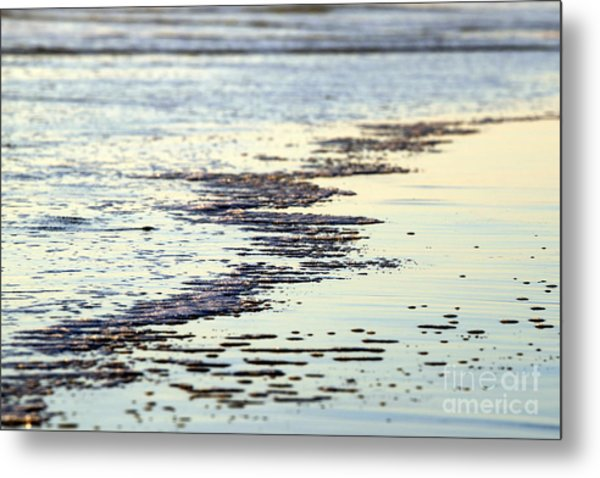 Beach Water Metal Print
