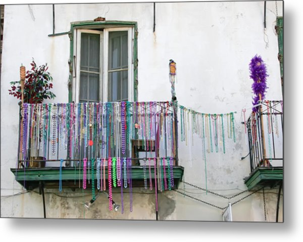 Bead The Porch Metal Print