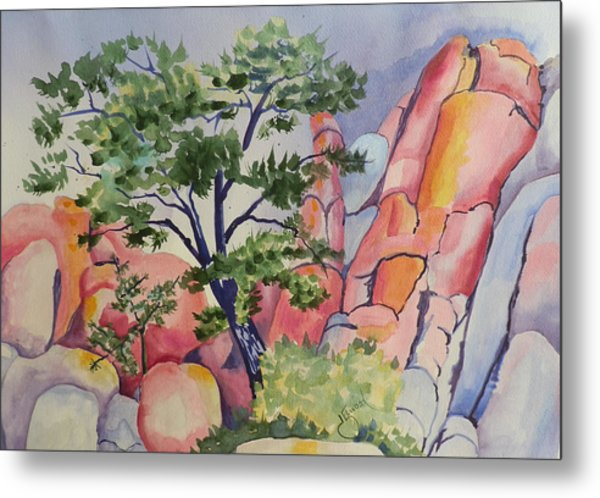 Beautiful Boulders Metal Print