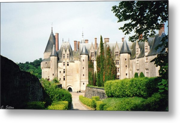 Beautiful Chambord Castle Metal Print