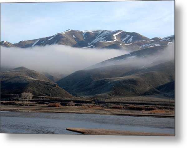 Beautiful Foggy Day Metal Print