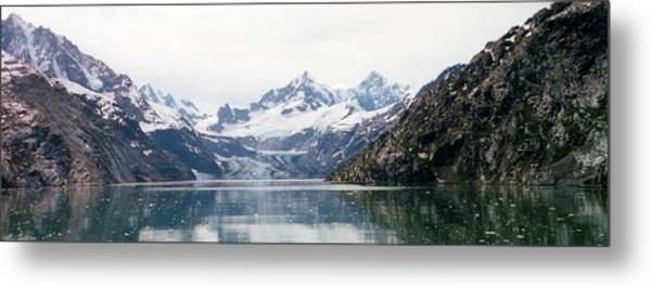 Beautiful Glacier Bay Metal Print