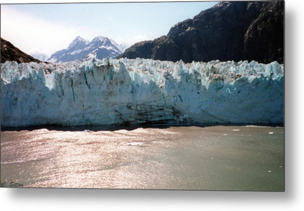 Beautiful Margerie Glacier Metal Print