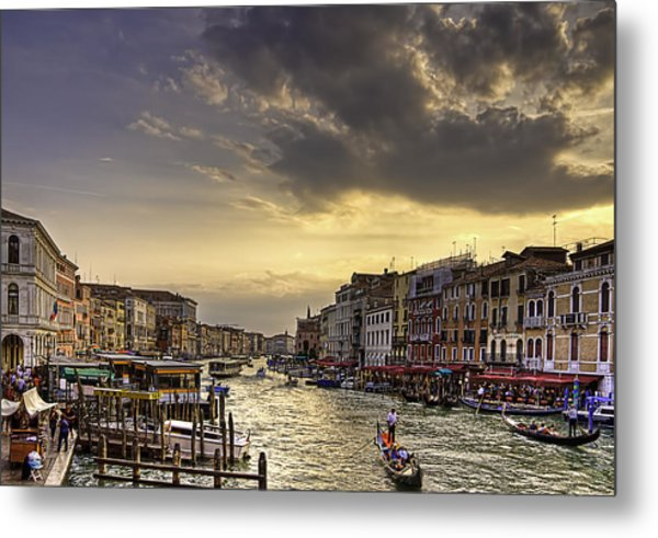 Beautiful Rialto Metal Print