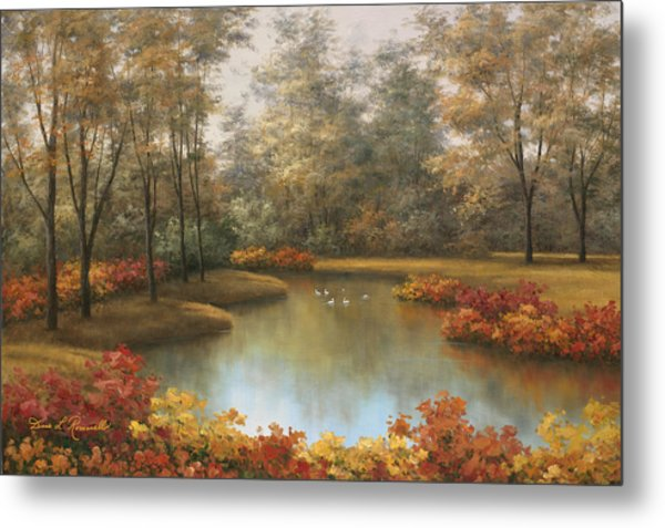 Beauty Of Autumn Metal Print