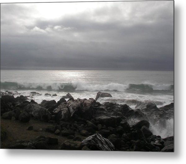 Beauty Of The Storm Metal Print