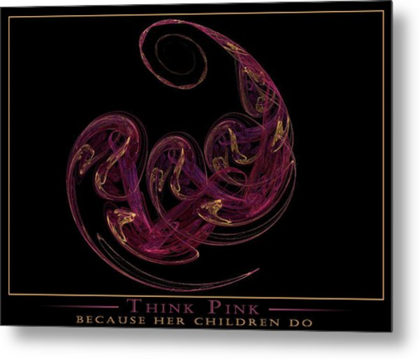 Because Her Children Do Metal Print by LeAnne Hosmer