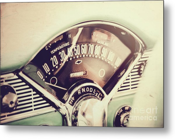 Belair Dashboard Metal Print