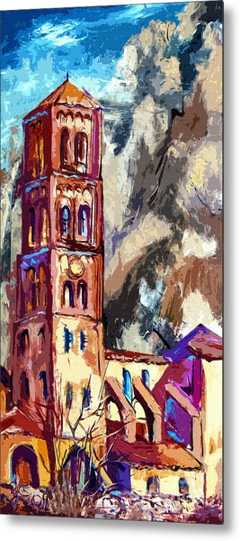 Bell Tower South Of France Metal Print