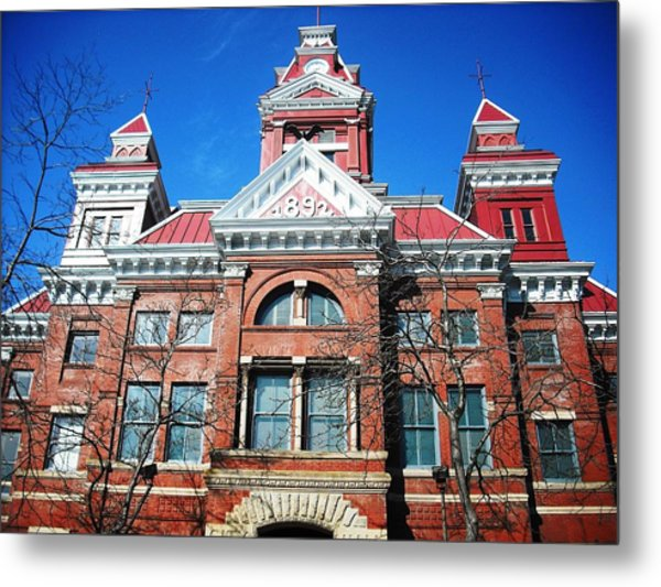 Bellingham City Hall Metal Print